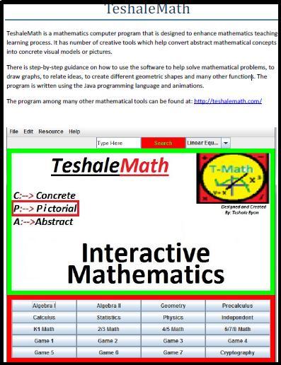 TeshaleMath